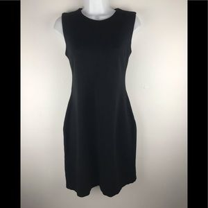 J. McLaughlin Black Dress Sleeveless Small